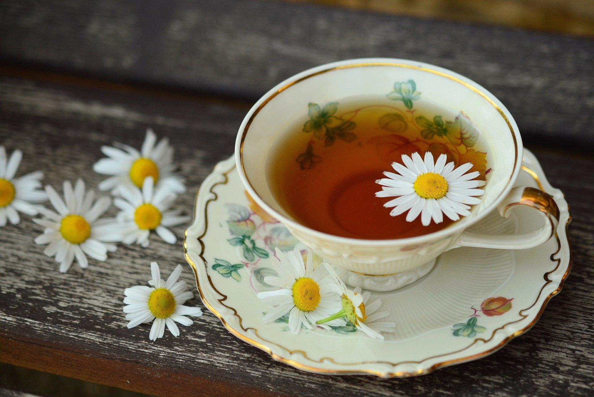 Tee ist gesund für die Stimme
